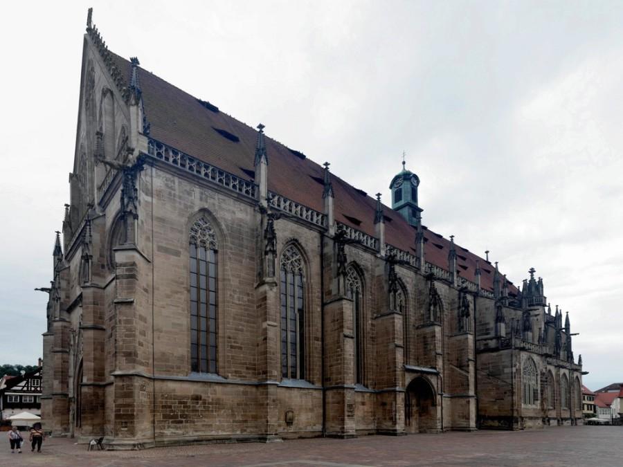 Heilig-Kreuz-Münster, Schwäbisch Gmünd, 2019