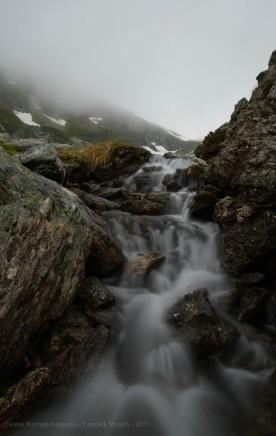 Kleiner Wasserfall, Langzeitbelichtung, Yannick Musch, 2019