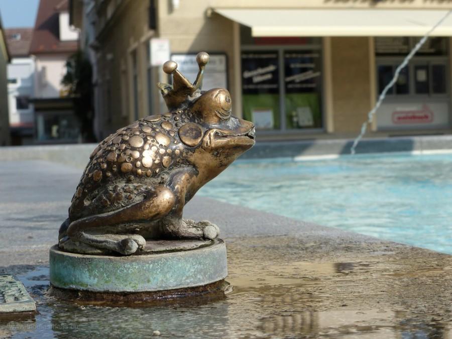 Detail vom Marktbrunnen...