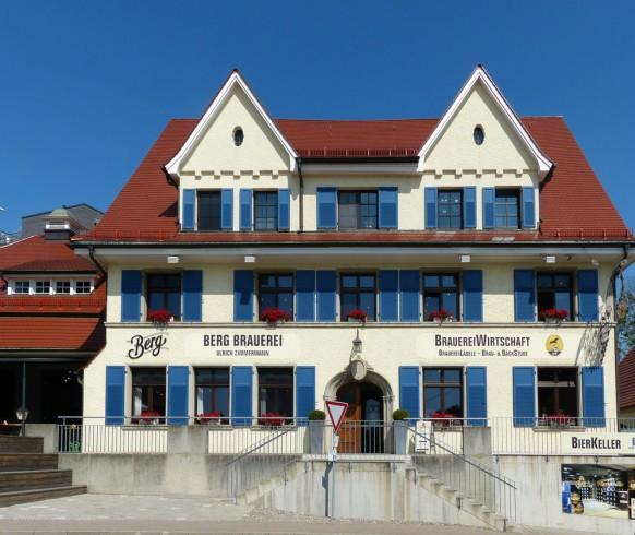 Berg Brauerei, Ehingen, August 2019