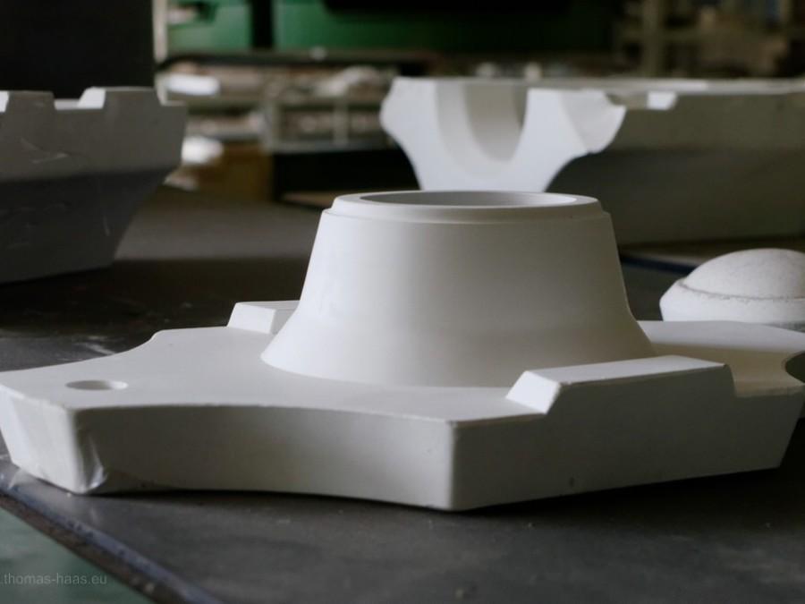 Gießformen für Porzellan, 2019