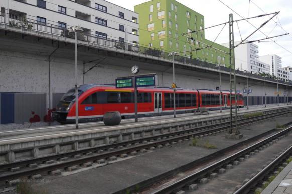 Meu-Ulm, Bahnhof, September 2019