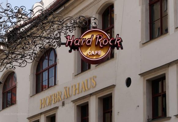 München, Hard Rock Cafe und Hofbräuhaus...