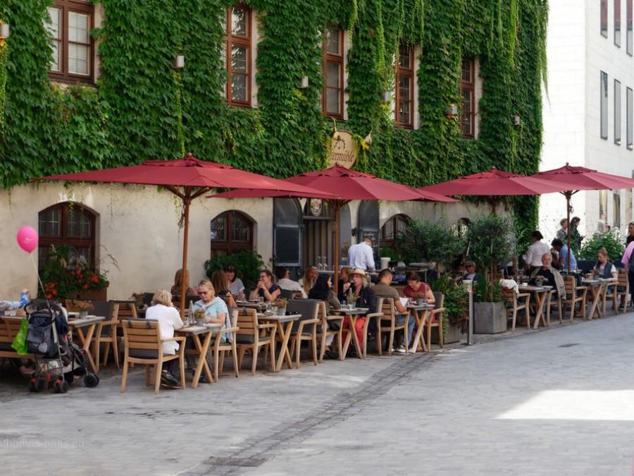 Straßencafe, München, 2019