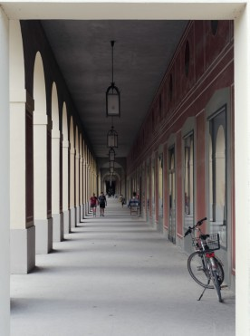Arkadengang, Hofgarten, München, 2019