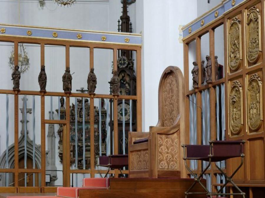 Bischofssitz im Dom, München 2019