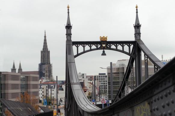 tour 30 der Fotogruppe in Ulm, hier Neutorbrücke und Münster