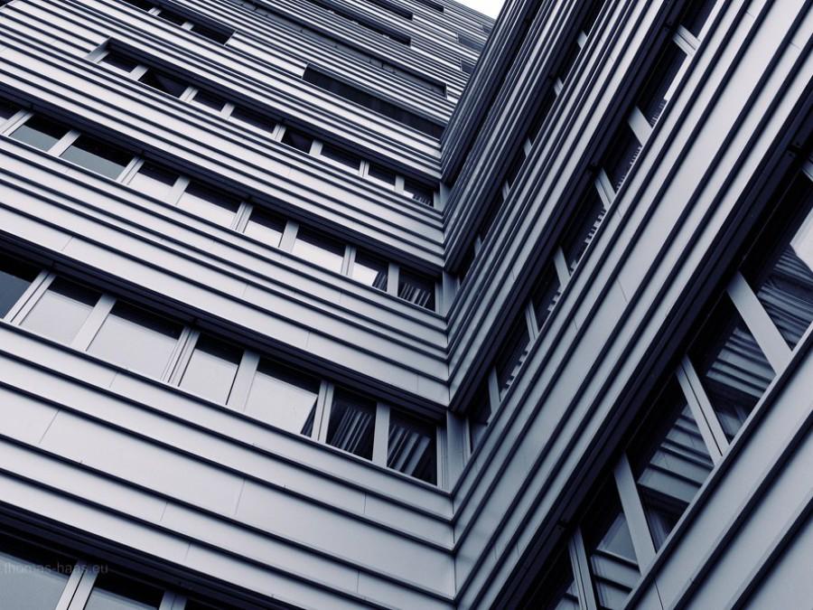 Fassade, Neubau, Ulm am Ehinger Tor, 2019