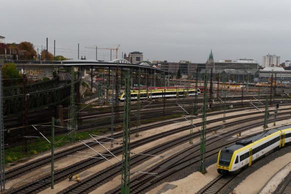 Ulm, Bahnhofsgelände, 2019