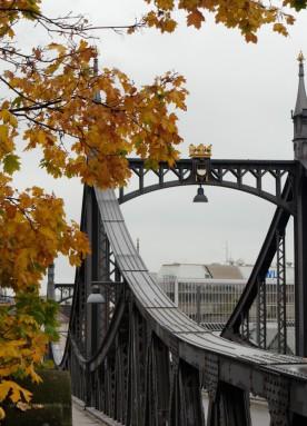 Neutorbrücke im Herbst, 2019