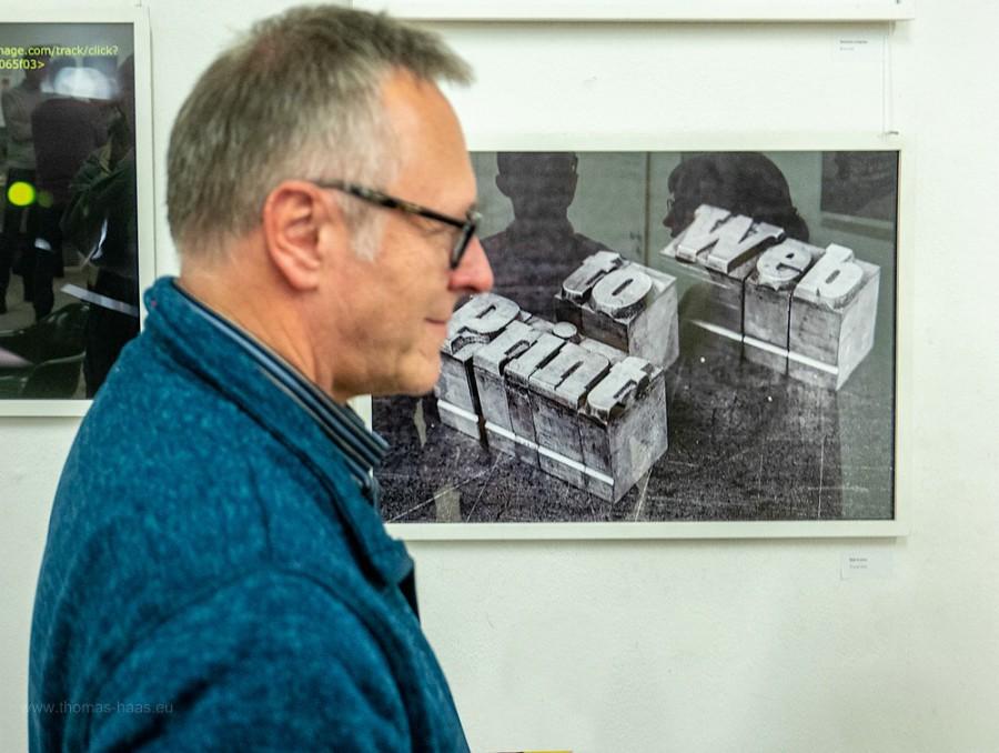Ausstellungsmotiv und Fotograf, 08.11.2019