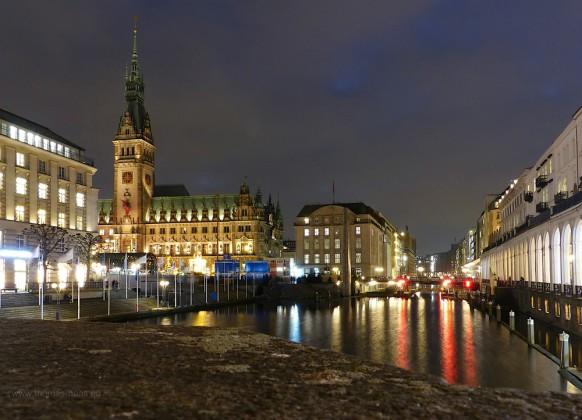 Rathaus Hamburg, Dezember 2019