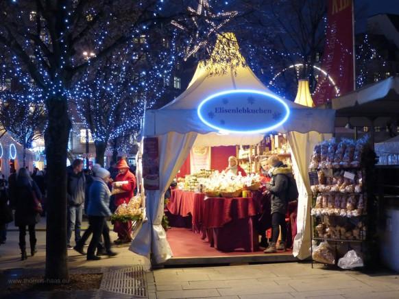 """Weihnachtsmarkt """"WeißerZauber"""" auf dem Jungfernstieg in Hamburg, 2019"""