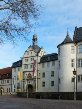 Residenzschloss, Stadtseite, Januar 2020