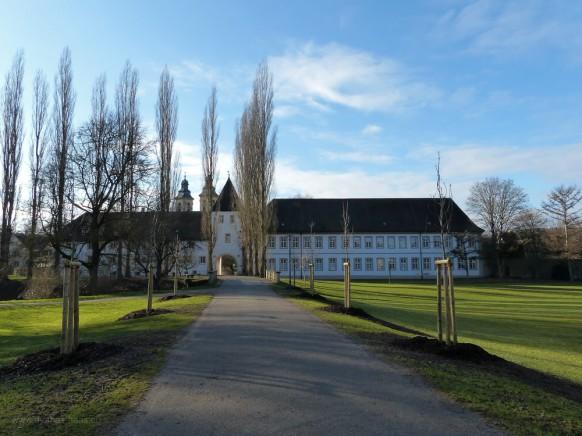 Residenzschloss, Deutschordensschloss,Bad Mergentheim, Januar 2020