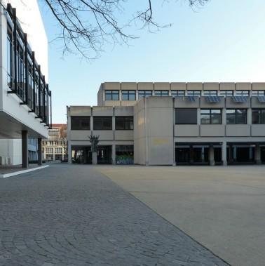 vh ulm und List-Schule am Kornhausplatz, Ulm