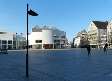 Münsterplatz und Stadthaus, März 2020