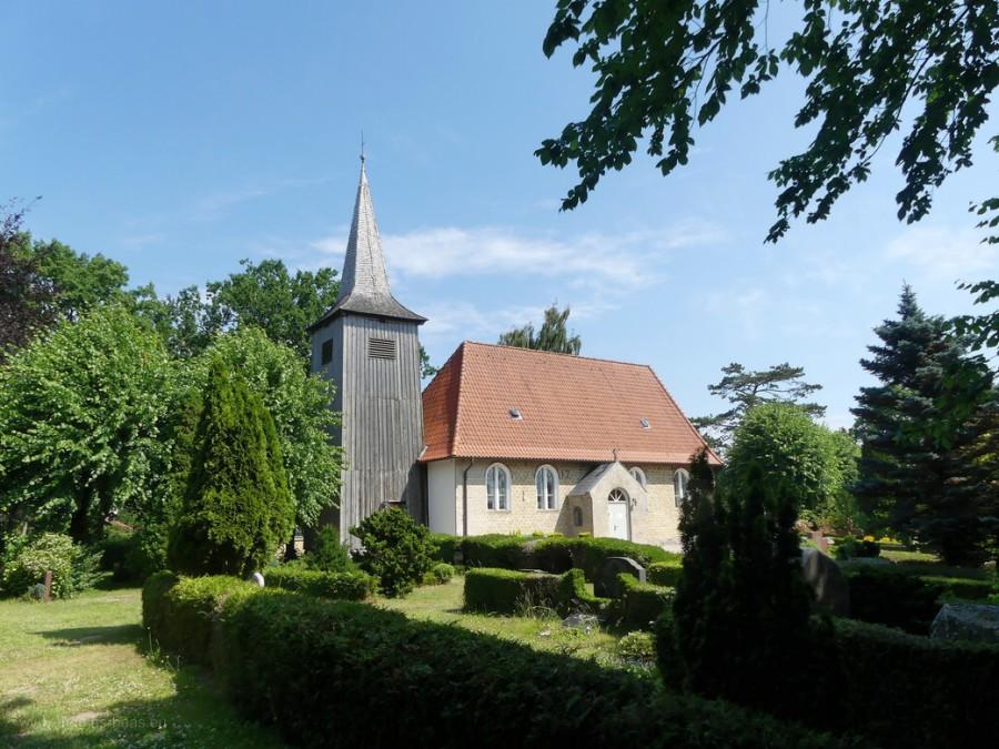 Die Schifferkirche in Arnis, der kleinsten Stadt in Deutschland, 2020