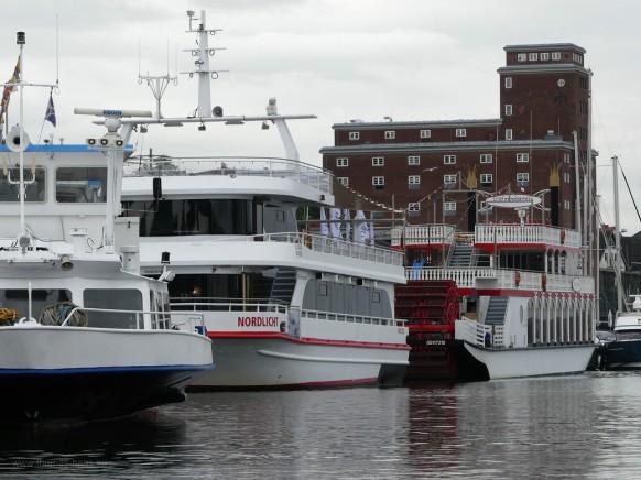 Anleger der Ausflugsschiffe in der Kappelner Innenstadt, 2020