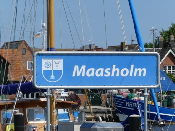 Zwischenstopp in Maasholm...