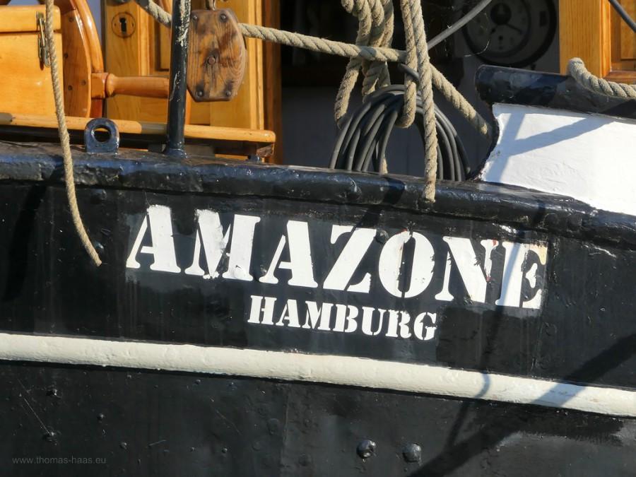 Aazone im Museumshafen Kappeln, 2020