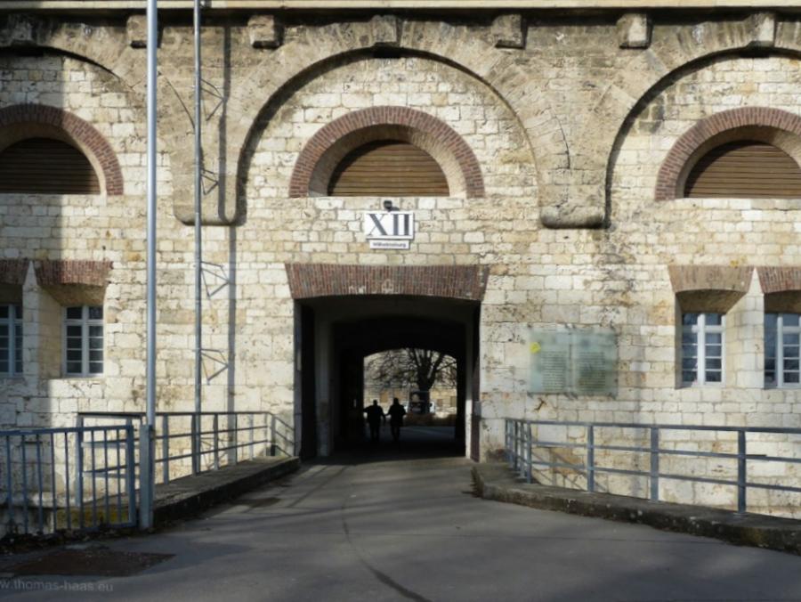 Zugang zur Wilhelmsburg, Ulm, 2020