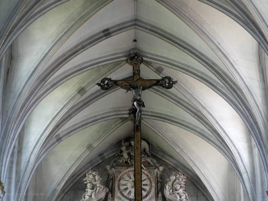 Gewölbe im Salemer Münster, 2020
