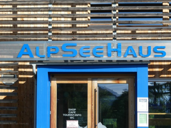 Das AlpSeehaus, Tourist Info, 2020
