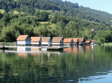 Bootshäuser, Alpsee, 2020