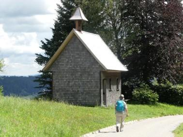Kapelle hoch über dem Alpsee, 2020
