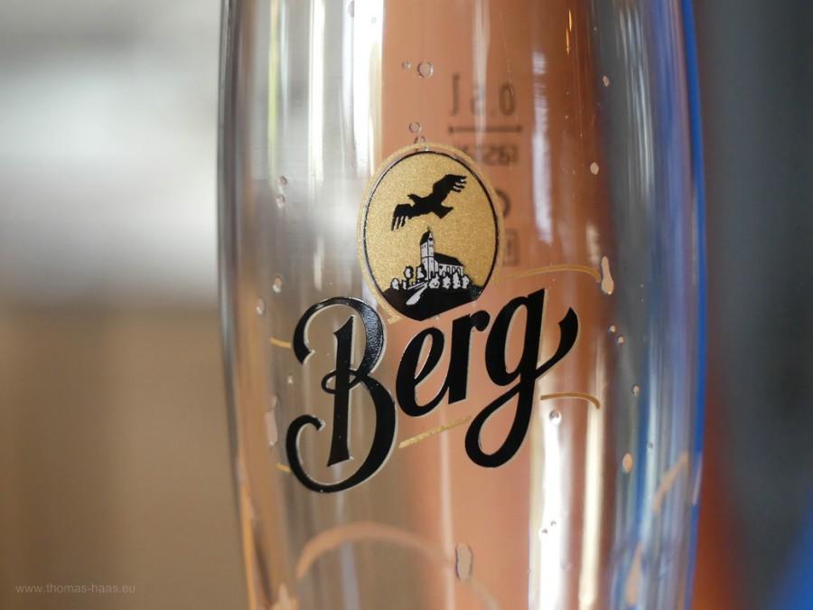 Bierglas, Berg Brauerei