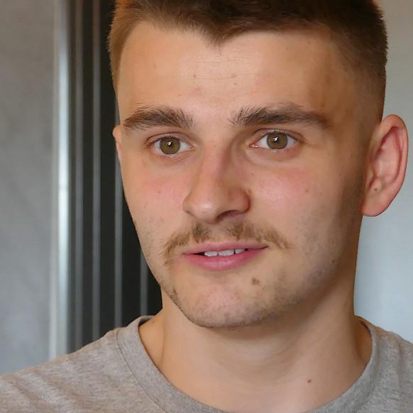Portrait Lucas in Berg, August 2020