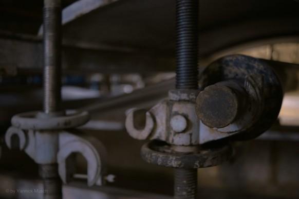 Detail an der Papiermaschine..., Yannick Musch, 2020