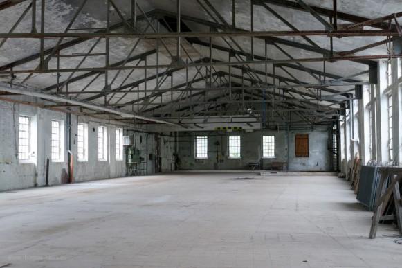 Halle in der Papierfabrik Blankenberg, 2020