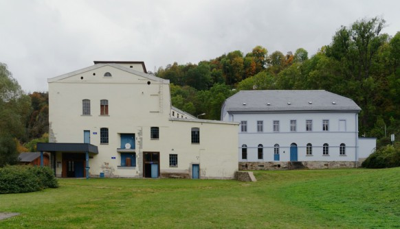 Papierfabrik blankenberg, Bauzustand Oktober 2020