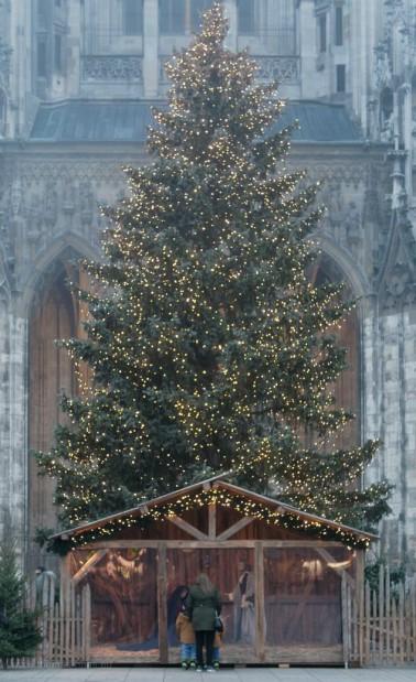 Corona-Weihnacht in Ulm, Dezember 2020
