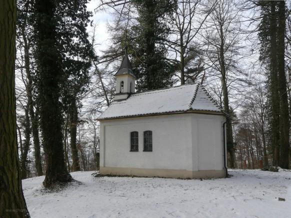 Winter am Käppele, Burgberg, Bellenberg, 2021
