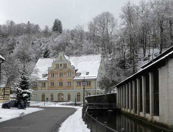 Winter am Brenztopf, Januar 2021