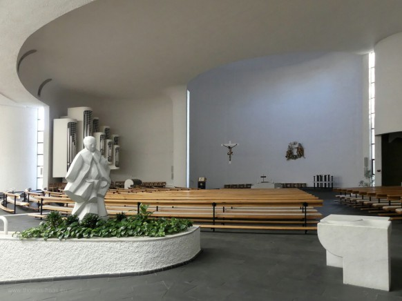 Bild des Monats April 2021 - St. Vinzenz, Untermarchtal, Innenraum