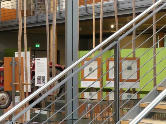 Stukturen im Museum, Ausstellungsbereich...