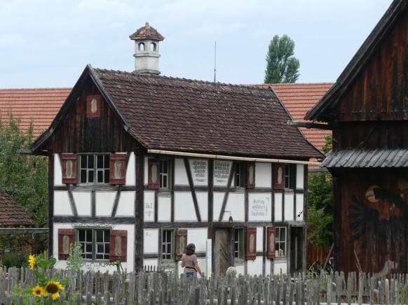 Ausdinghaus, Illerbeuren, Bauernhofmuseum, August 2021