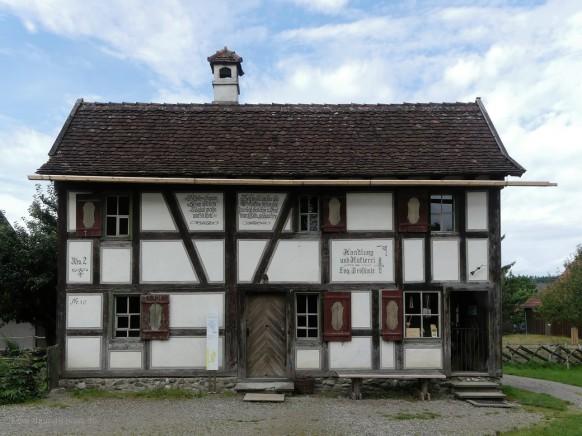 Das Woringer Häusle, erbaut 1823