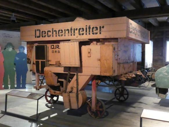 Dreschmaschine von Dechentreiter aus Bäumenheim in Bayern