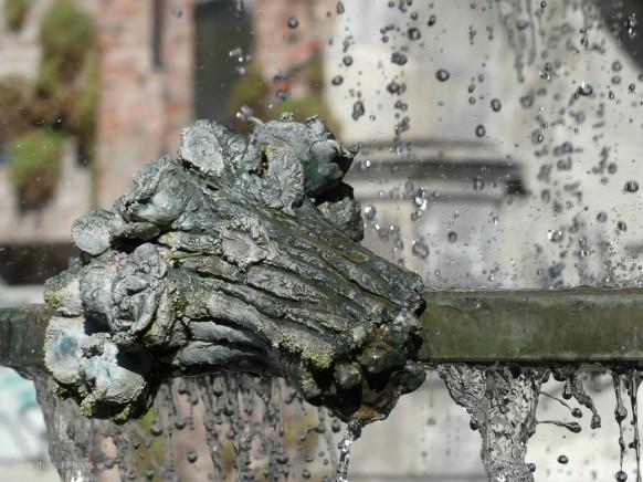 Griesbadbrunnen, Ulm, Detail...