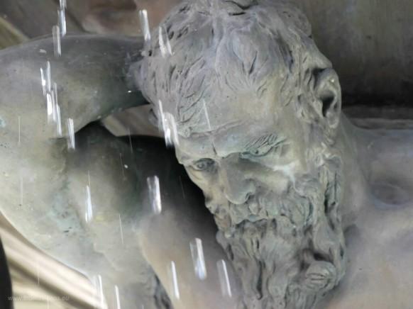 Atlantenbrunnen, Detail...