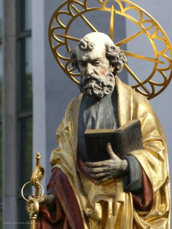 Peterkasten an der Dreifaltigkeitskirche...