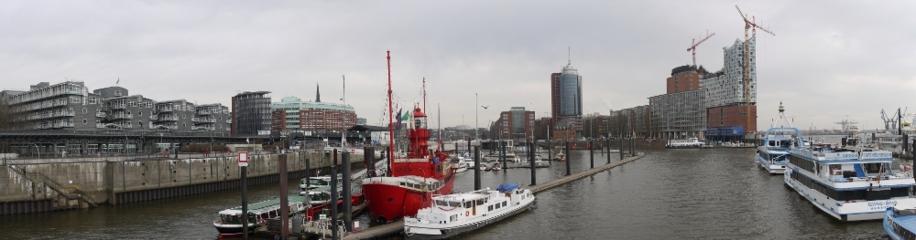 Panorama Hamburg, Hafen