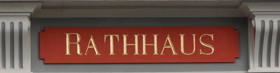 "Portal am ""Rathhaus"""