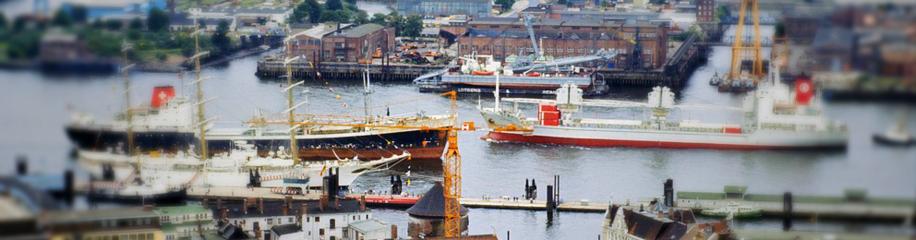 Der Hamburger Hafen als TiltShift