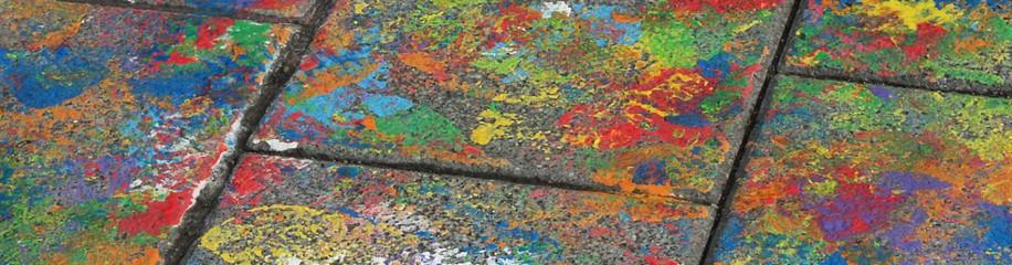 Straßenmalerei, Ulm, 2010
